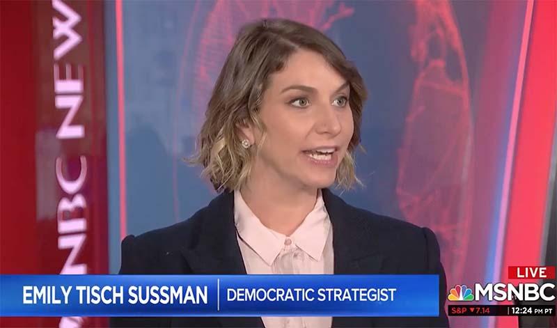 MSNBC democratic political strategist